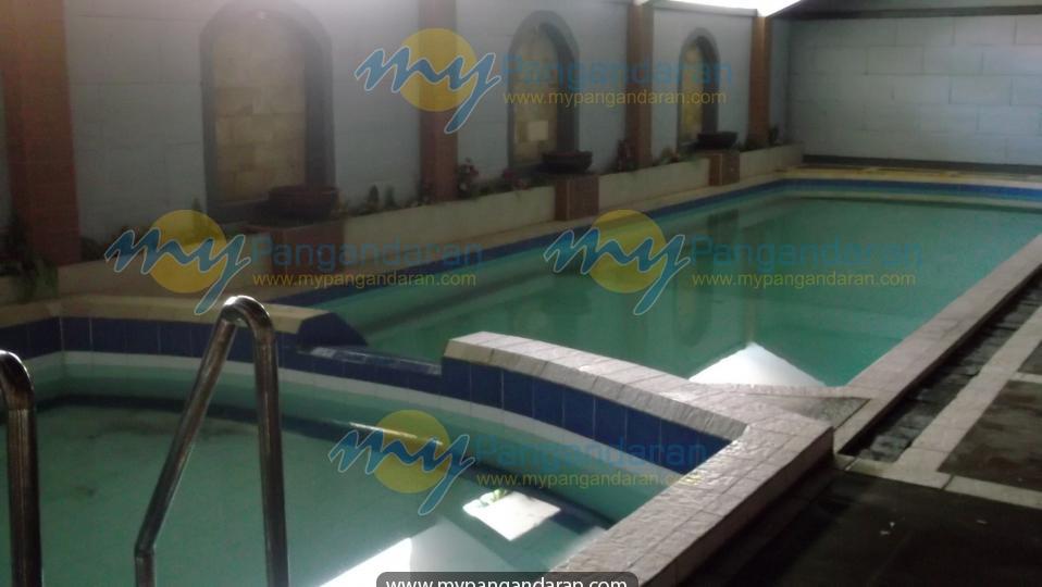 Tampilan swimming pool Pantai Sri Rahayu Pangandaran